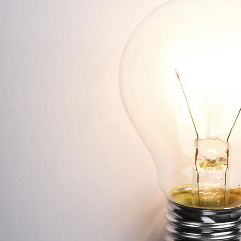 4Th Industrial Revolution Light Bulb 557X557