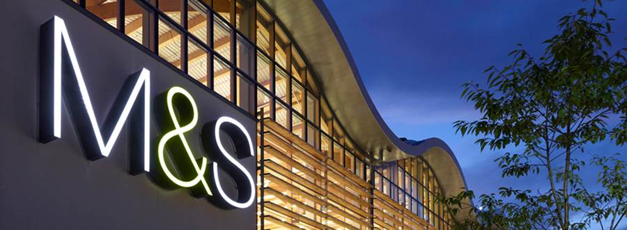 M And S Header